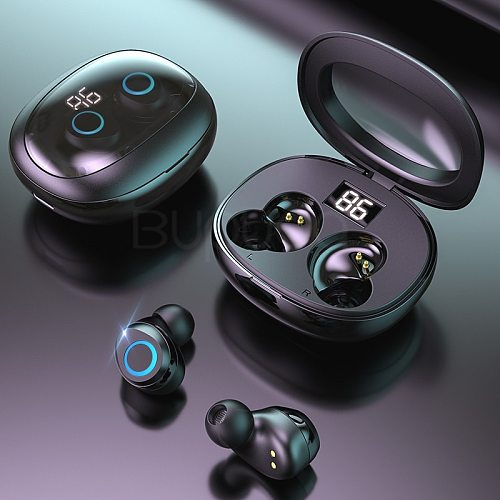 9D Stereo Mini Wireless Bluetooth Earphones With Microphone Touch Control Bluetooth Headphones Super Bass Headset For Android