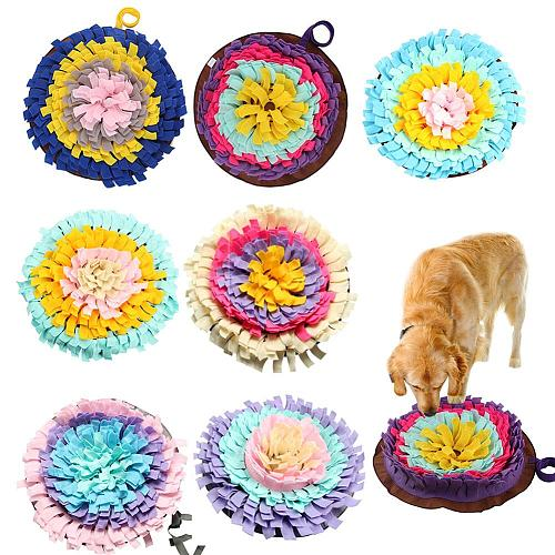 Dogs Snuffle Mat Pet Leak Food Anti Choking Mat Cat Dog Training Blanket Nose Work Toy Pet Slowing Feeding Intelligence Mat