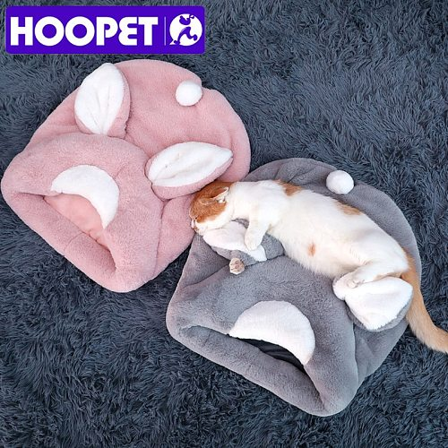 Pet Cat Bed Kennel Dog Beds for Cats Winter Warm Sleeping Bag Puppy Cushion Mat Portable House Cats Products Pet Supplies