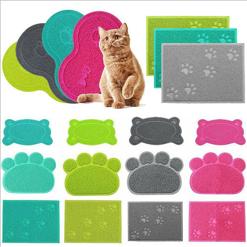 Pet Feeding MAT Small Dog/Puppy/Cat/Kitten Feeding/Food Mat Dish/Bowl Place Mat