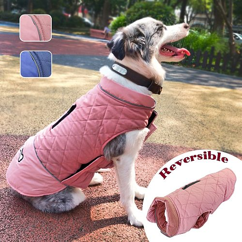 Warm Pet Dog Clothes Coat Winter Dog Puppy Clothing Jacket For Small Large Dogs French Bulldog Chihuahua Yorkie Pets Ropa Perro