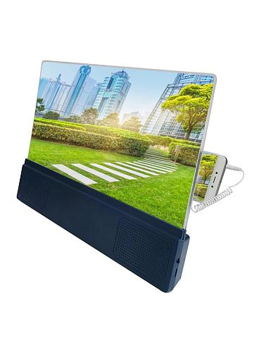 12inch Screen Magnifier 3D Mobile Phone Screen Video Amplifier With Two Charging Methods A Good Gift For Eyes Protecting