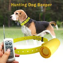 Multi-dog Training Hunting Collar Beepers Waterproof 1000M Remote Control Dog Tracker Collars with 8 built-in Beeper Sound