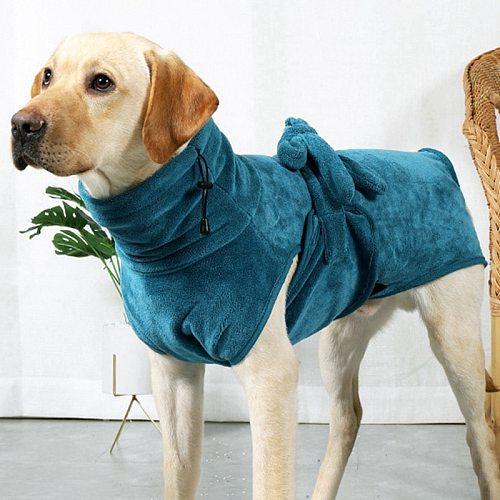 Pet Dog Super Absorbent Bath Towel Dog Bathrobe Pet Drying Towel Microfiber Dog Cat Quick-Drying Bath Towels Sleeping Clothes &