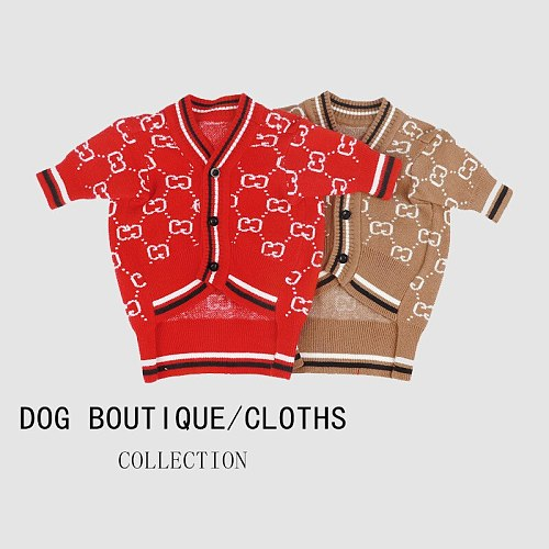 Pet clothing autumn and winter sweater comfortable and nice warm dog clothing