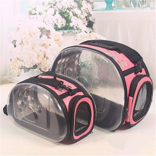 Cat Carrier Bag Cat Cage Transport Backpack Dog Cat Bag Travel Pet Portable Breathable Carrier Transparent Backpack For Cats Pet