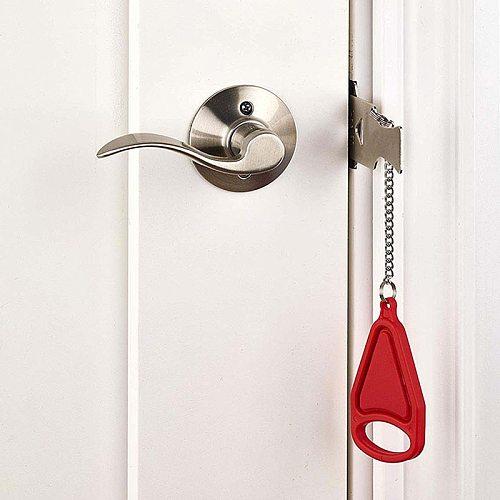 Portable Door Lock Self-Defense Anti Theft Door Locks Safety Latch Door Stopper Security Hotel Apartment Travel Home Door Locks