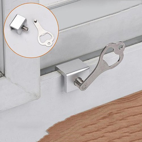 Windows Lock Window Stoppers Move Window Sliding Windows Lock Security Sliding Sash Stopper Locks High Quality Child Safety Lock