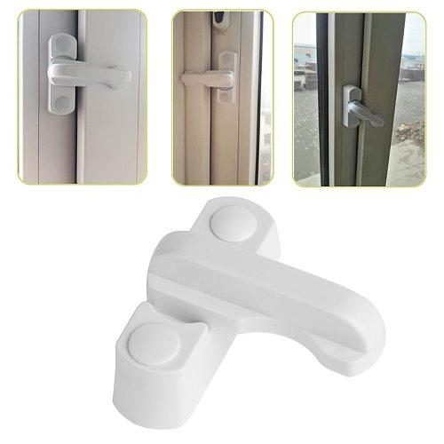 Plastic+Stainless Steel+Zinc Alloy UPVC Child Safe Security Window Door Sash Lock Safety Lever Handle Sweep Latch