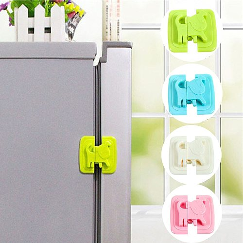 1 Pcs New Creative Refrigerator Lock Security Measures Child Infant Baby Kids Security Toddler Child Safety Cabinet Lock
