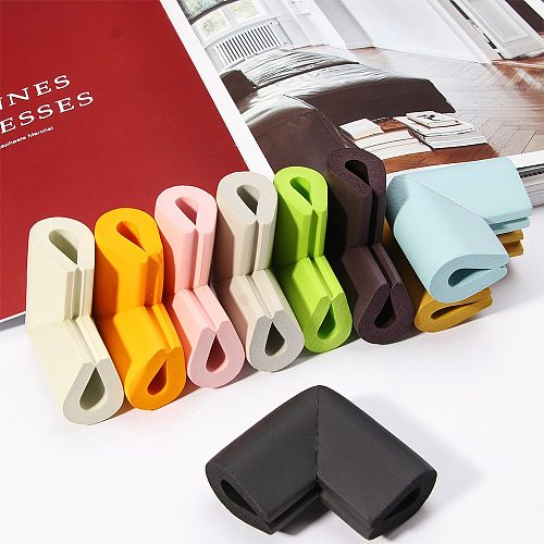 4Pcs Child Protection Table Guard Kid Corner Protector Baby Safety Guards Edge Solid Angle Protection Cushion Cover Protector