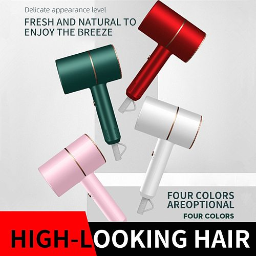 Hair dryer household hot and cold wind hair dryer household high-power blue light negative ion hair dryer American specification