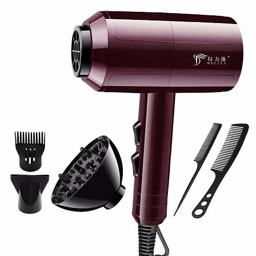 Professional Portable Mini Hair Dryer  1100w For Hair Blow Dryer Hair Professional Brush Hairdryer Machine Travel Hairdryer