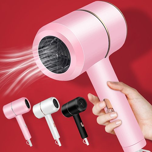 1800W Mini Anion Hair Dryer Professinal Ionic Hairdryer Hot Cold Wind Electric Hair Dryers Salon Tool