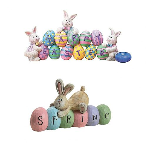 Easter Eggs Pendant Stylish Interesting Multi-colored Acrylic Eggs Ornament for Festival Easter Party Home Decoration Supplies