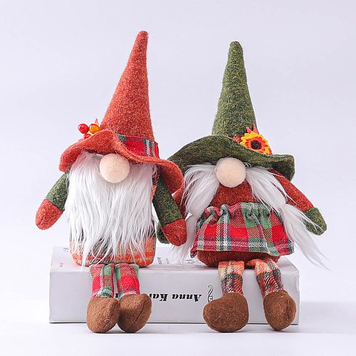 Easter Faceless Doll Decorations Room Desktop Decoration Standing Post Home Figurines Ornaments Kids Toys Gifts 2021
