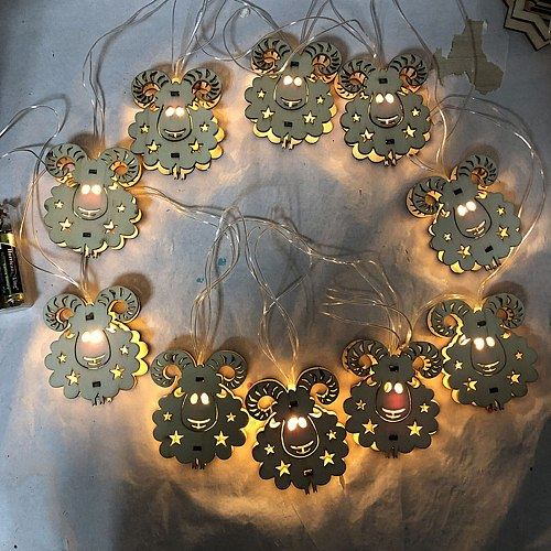 Ramadan Decoration Led Light String Eid Mubarak Party Decor Home Hajj Ramadan Kareem Eid Al Adha EID Lantern Gift