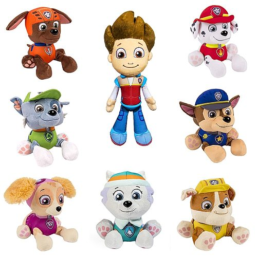 20cm Peluche Paw Patrol Plush Dog Marshal Everest Tracker Chase Skye Plush Doll Anime Plush Kids Toys Stuffed Toy Gift
