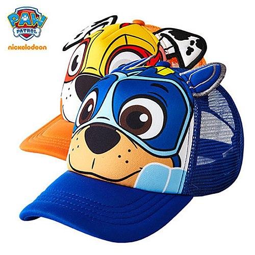 2021 PAW Patrol Cotton Cute Children's Hats Caps Headgear Chapeau Puppy Print Party hat Kids Birthday Gift children toys