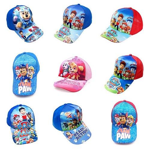 Paw Patrol Hot Children's cap Puppy patrol patrulla canina Toy Puppy Patrol Kis Hats Figure Toy Birthday Christmas Gift Toys