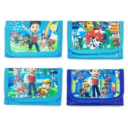 Paw Patrol Children Cartoon Watch Wallet Without Box Anime Figure Patrulla Canina Coin Purse Wallet Kids Gift Random Shipment
