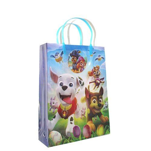 New Paw Patrol Paper Bag Gift Packaging Bag Small Paper Bag Gift Bag Birthday Party Paper Bag Handle Paper Shopping Bag
