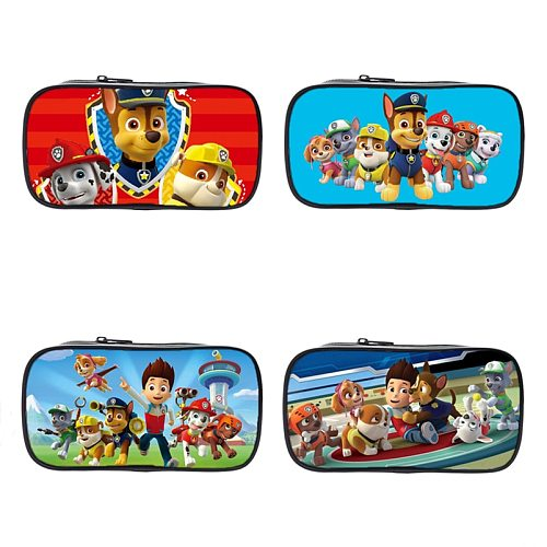 2021 Paw Patrol Cute Kawaii Canvas Pencil Case High Capacity Pen Bags  Letter Pencils Bags Kid Gift School Supplies Stationery