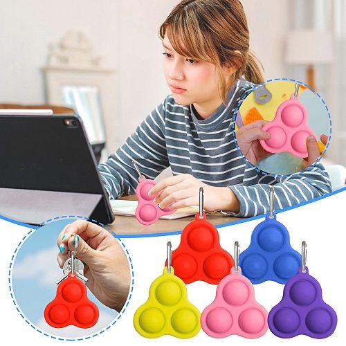 Creative Simple Dimple Fidget Toys For Children Adult Pop it Creative Brain Pressure Reliever Board Decompression Toy