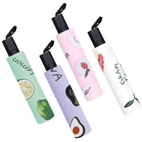 Umbrella Female Machine Fully Automatic Umbrella Sunscreen UV Protection Folding Sun Umbrella Rain or Shine Large Male