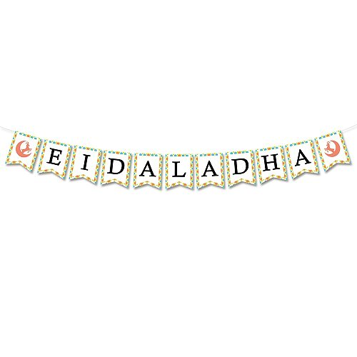 Eid Al Adha Party Decoration Banner Traditional Muslin Sheep Holidays Decoration Eid Al Adha Party Supplies
