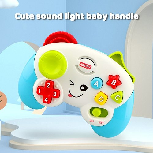 Kids Musical Sound Light Game Controller Teaching Multi-Function Electric Game Handle Baby Children's Educational Toy