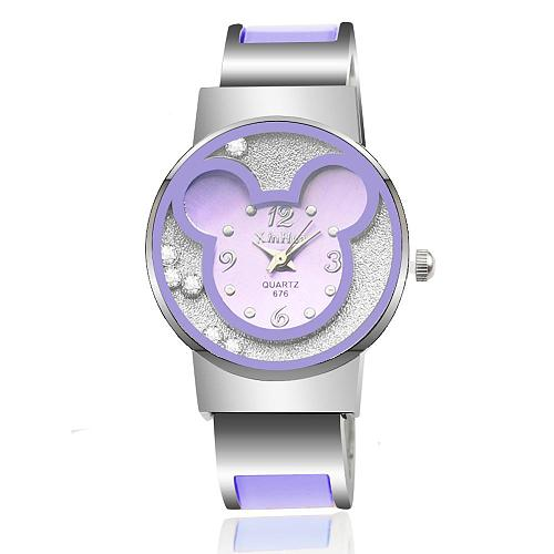 Kids Quartz Watch Cartoon Children wrist Watches Quartz Baby Clock Girls Boys Gifts Mouse 2020 reloj steel