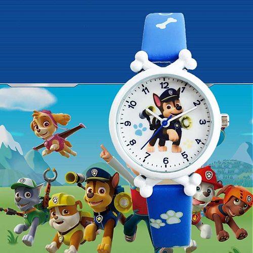 New Kids Watch Electronic Waterproof Watch Cartoon Animal Primary School Children Boys And Girls Quartz Watch