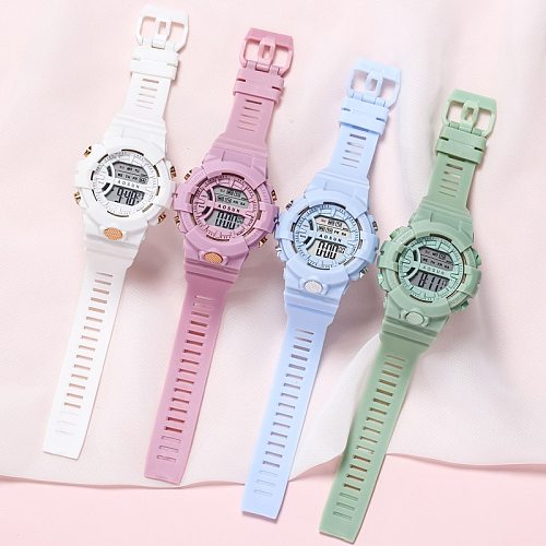 Kids Digital Electronic Sport Children Watch Wristwatch For GIrls Boys Child Teens Student Watches Luminous Gift