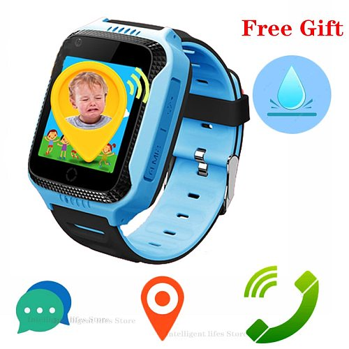 Kids Watches GPS Position Antil-lost Smart Watch child IP67 Waterproof Phone SOS Watch Use SIM Card Smart Boy Children's Gift