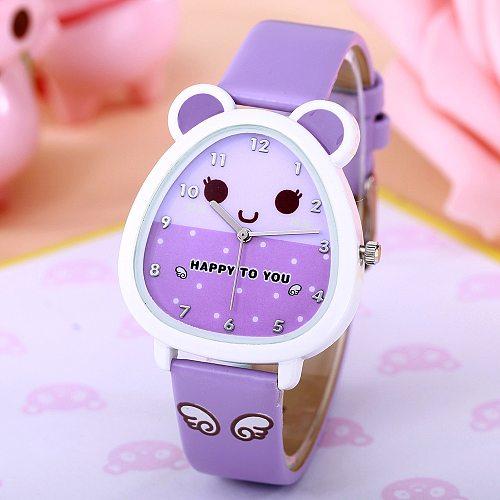 Kids Watches Children's Watch Waterproof Quartz Watch Cute Cartoon Watch Fashion Girl Jelly Digital Watch