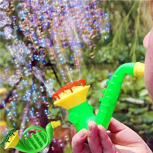1PCS Random Water Blowing Toys Bubble Soap Bubble Blower Outdoor Kids Toys Parent-child Exchange Interactive toy Wholesale