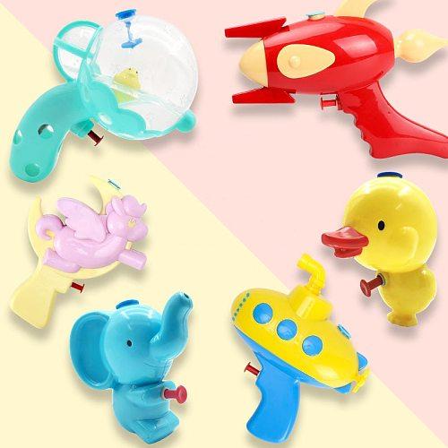 Summer Water Gun Toys For Children Girls And Boys Cartoon Animal Press Water Pistols Outdoor Garden Swimming Pool Beach Bath Toy