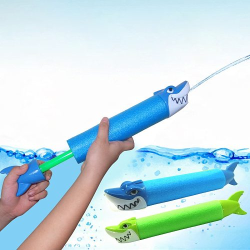 Foam Water Guns For Kids Smoked Pull Type Super Soaker Water Pistol Toys For Summer Fun Outdoor Swimming Pool Games Beach Garden
