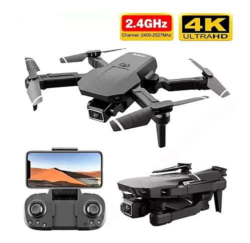 2021New S68 pro Drone 4k HD Wide Angle Camera Wifi Fpv Drone Height Keeping With Camera Mini Drone Video Live Rc Quadcopter