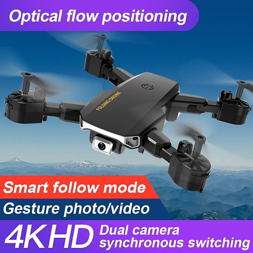 S60 RC Drone 4K Profesional HD Camera WIFI FPV  Hold Mode  One Key Return Foldable Arm Quadcopter Dron For Kid Gift