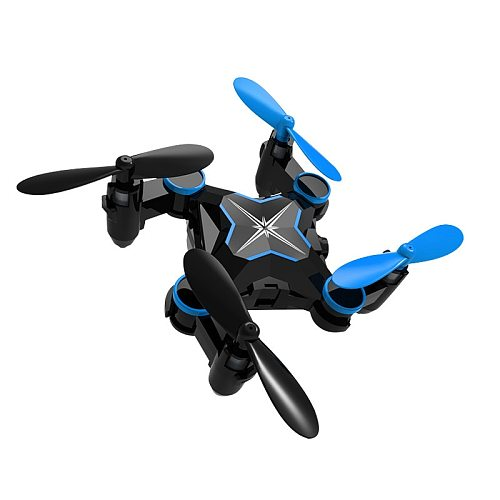Mini Drone Foldable RC Helicopter With Camera WIFI FPV Aircraft Remote Control Four-Axis RC Drone Aerial Quadcopter Toys For Kid
