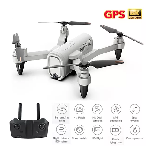 2021 New GPS Drone H6 4K HD ESC Camera 5G WiFi Fpv Fixed Height Foldable Quadcopter RC Dron Toy For Kids
