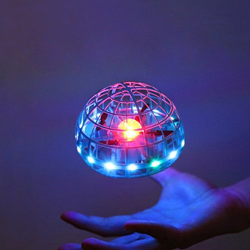 2021 Flying Ball Spinner Ball UFO Boomerang Soaring Flying Toy Mini Drone LED Hand Gesture Control Gift Toys for Kid Adult