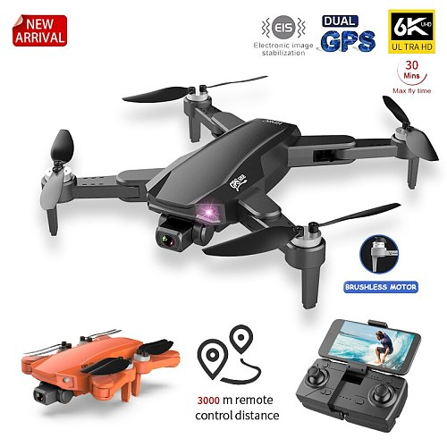 S608 Pro GPS Drone 4k Profesional 6K HD Dual Camera Aerial Photography Brushless Foldable Quadcopter RC Distance 3KM
