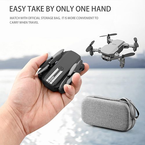 2021 New Mini Drone 4K 1080P HD Camera WiFi Fpv Air Pressure Altitude Hold Foldable Quadcopter RC Dron Kid Toy Gift