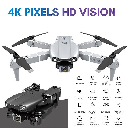 New HJ97 Pro Drone 4k HD Dual Camera Visual Positioning 1080P WiFi Fpv Drone Height Preservation Rc Quadcopter