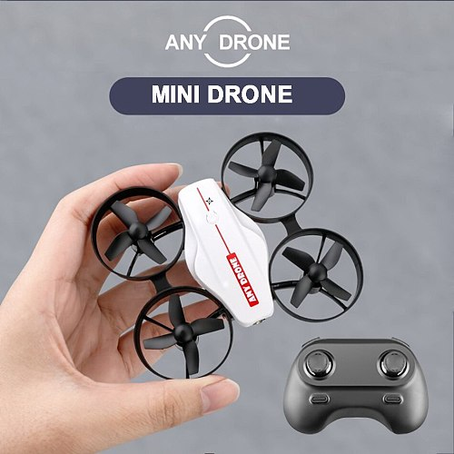 Mini Pocket Drone Toys 4K HD Camera Headless WiFi FPV Electronic RC Quadcopter Remote Control Dron Helicopter Toy For Children