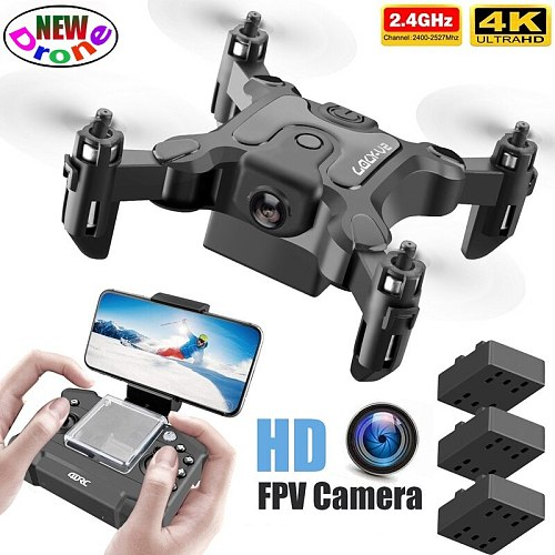 LSRC V2 Mini RC Drone Camera HD Wifi Fpv Photography Professional Quadrocopter Hight Hold Pocket Portable Dron Toys for children
