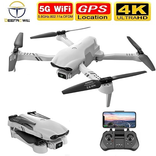 2021 NEW F10 Drone 4K 5G WiFi Live Video FPV Quadrotor Flight 25 Minutes Rc Distance 2000m Gps Rc Drone HD Wide-Angle Dual Camer